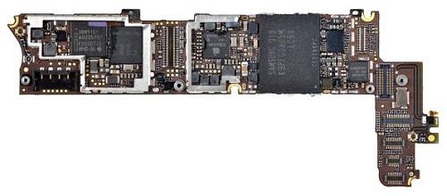 Замена микросхемы контроллера заряда U2 iPhone