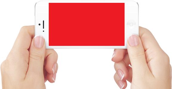 Белый, синий, красный экран на iPhone